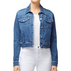 Large J Brand Harlow shrunken denim jacket